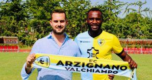 Valeriano Nchama è un nuovo giocatore dell'Arzignano Valchiampo
