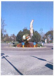 Rendering del monumento