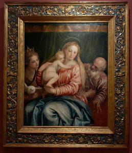Veronese - Madonna con bambino