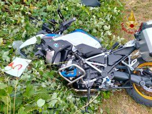 Val Liona scontro auto moto