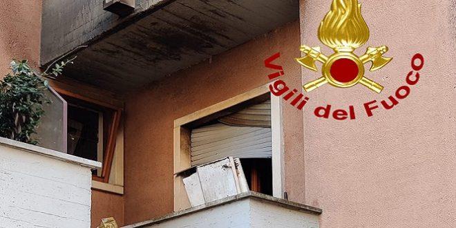 Vicenza: incendio divampato all'interno di un appartamento