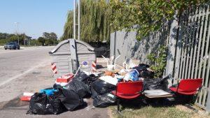 Vicenza abbandono rifiuti