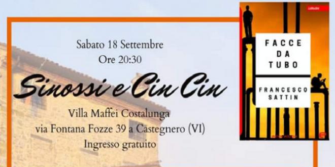 """Francesco Sattin: presentazione del libro """"Facce da Tubo"""""""