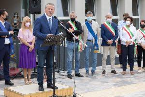 """Liceo """"F. Corradini"""" di Thiene: inaugurato l'ampliamento"""