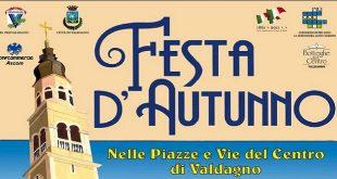 Valdagno: nel fine settimana torna l'attesa Festa d'Autunno