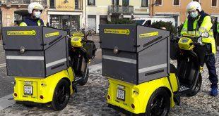 Poste Italiane: a Vicenza il recapitoè più green