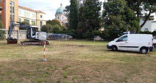 Thiene, Centro Storico: l'area dell'ex Liceo diventa parcheggio